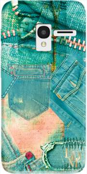 Jeans Case for Alcatel Pixi 3 4.5 3G 4027X