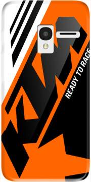 KTM Racing Orange And Black Case for Alcatel Pixi 3 4.5 3G 4027X