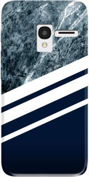 Marble Navy Case for Alcatel Pixi 3 4.5 3G 4027X