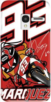 Marc marquez 93 Fan honda Case for Alcatel Pixi 3 4.5 3G 4027X