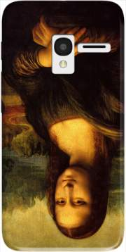 Mona Lisa Case for Alcatel Pixi 3 4.5 3G 4027X