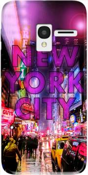 New York City - Broadway Color Case for Alcatel Pixi 3 4.5 3G 4027X