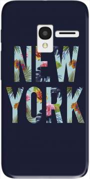 New York Floral Case for Alcatel Pixi 3 4.5 3G 4027X