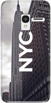NYC Basic 8 Case for Alcatel Pixi 3 4.5 3G 4027X