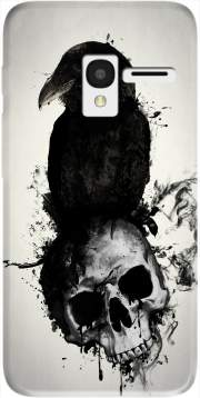 Raven and Skull Case for Alcatel Pixi 3 4.5 3G 4027X
