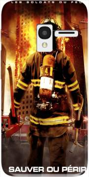 Save or perish Firemen fire soldiers Case for Alcatel Pixi 3 4.5 3G 4027X