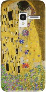 The Kiss Klimt Case for Alcatel Pixi 3 4.5 3G 4027X