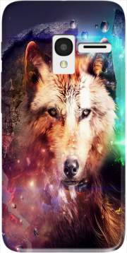 Wolf Imagine Case for Alcatel Pixi 3 4.5 3G 4027X