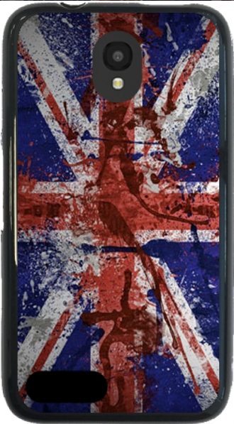 Silicone Alcatel Pixi 4 (3.5) with pictures flag
