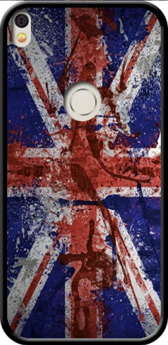 Silicone Alcatel Shine Lite with pictures flag