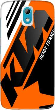 KTM Racing Orange And Black Case for HTC Desire 526G+
