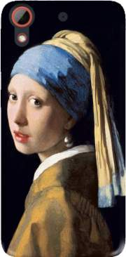 Girl with a Pearl Earring Case for Htc Desire 628