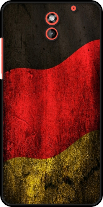 Case HTC Desire 620 with pictures flag