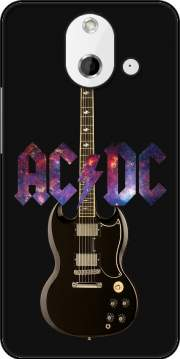AcDc Guitare Gibson Angus Case for HTC One (E8)