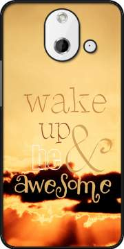 Be awesome Case for HTC One (E8)