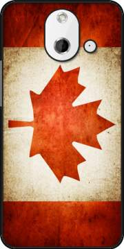 Canadian Flag Vintage Case for HTC One (E8)