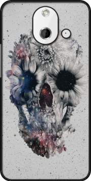 Floral Skull 2 HTC One (E8) Case