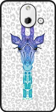 Giraffe Purple Case for HTC One (E8)