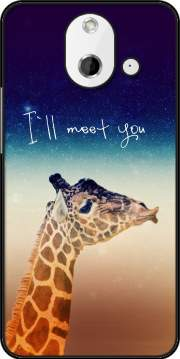 Giraffe Love - Left Case for HTC One (E8)