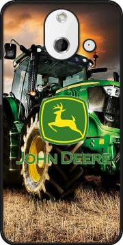 John Deer tractor Farm Case for HTC One (E8)