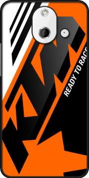 KTM Racing Orange And Black Case for HTC One (E8)