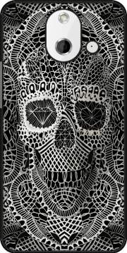 Lace Skull Case for HTC One (E8)