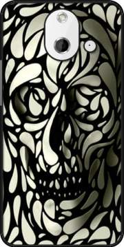 Skull Zebra White And Black Case for HTC One (E8)