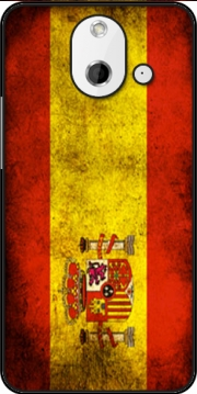 Flag Spain Vintage Case for HTC One (E8)