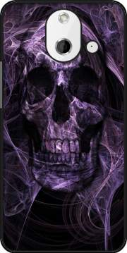 Violet Skull Case for HTC One (E8)