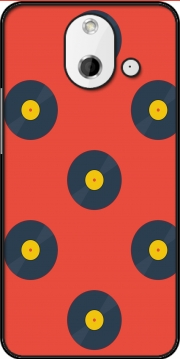 Vynile Music Disco Pattern HTC One (E8) Case