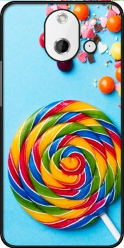 Waffle Cone Candy Lollipop HTC One (E8) Case
