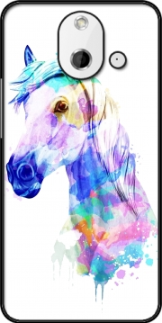 watercolor horse Case for HTC One (E8)