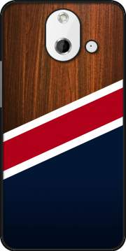 Wooden New England Case for HTC One (E8)