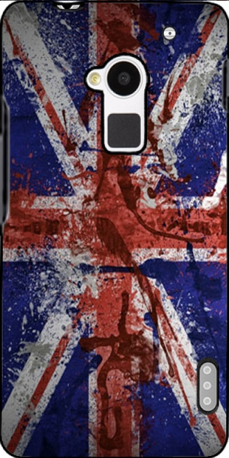Silicone HTC One Max with pictures flag