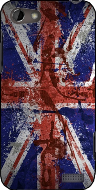 Case HTC One V with pictures flag