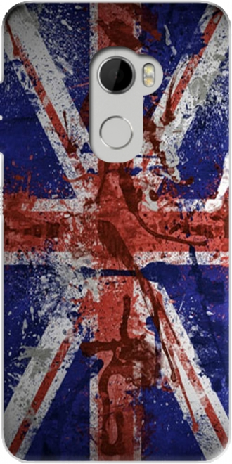 Silicone hTC One X10 with pictures flag