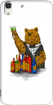 Bartender Bear Case for Huawei Honor 4A