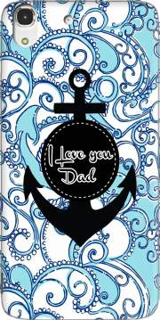 Blue Water - I love you Dad Case for Huawei Honor 4A