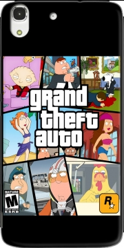 Family Guy mashup GTA Huawei Honor 4A Case