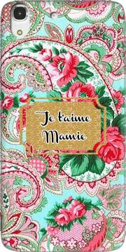 Floral Old Tissue - Je t'aime Mamie Case for Huawei Honor 4A