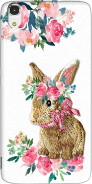 Flower Friends bunny Lace Huawei Honor 4A Case
