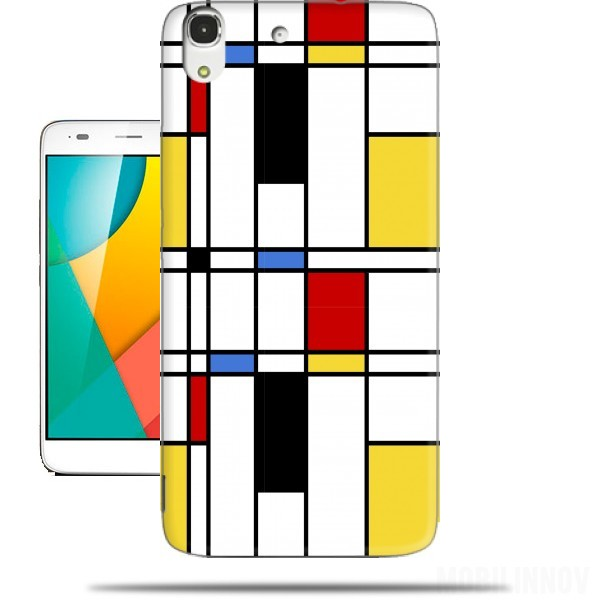 Case Geometric abstract for Huawei Honor 4A