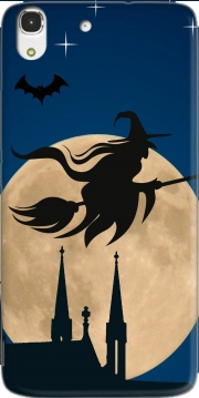 Halloween Moon Background Witch Huawei Honor 4A Case