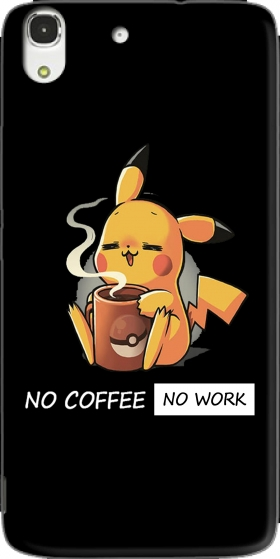 Case Pikachu Coffee Addict for Huawei Honor 4A