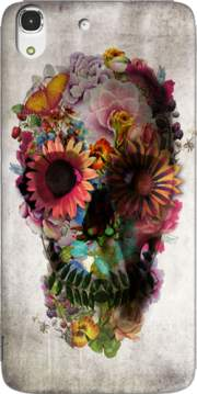 Skull Flowers Gardening Case for Huawei Honor 4A