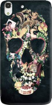 Skull Vintage Case for Huawei Honor 4A
