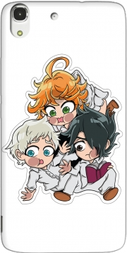The Promised Neverland Emma Ray Norman Chibi Huawei Honor 4A Case