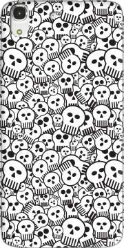 toon skulls, black and white Case for Huawei Honor 4A