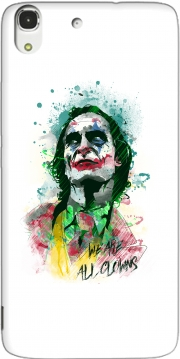 Watercolor Joker Clown Huawei Honor 4A Case