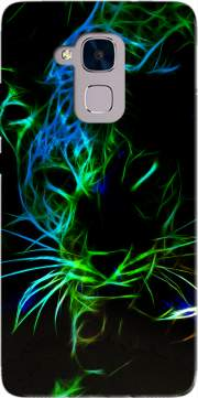Abstract neon Leopard Case for Huawei Honor 5C / HUAWEI GT3 / Honor 7 Lite